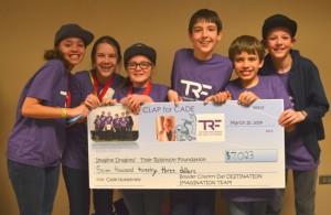 Six Kids raise money for Tyler Robinson Foundation